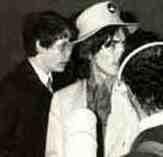 David Stark with George Harrison