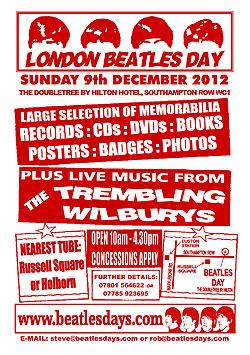 london beatles day dec 2012