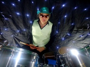 dave at the drums