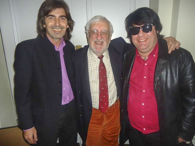 Glen and Dave with Bernard Cribbins