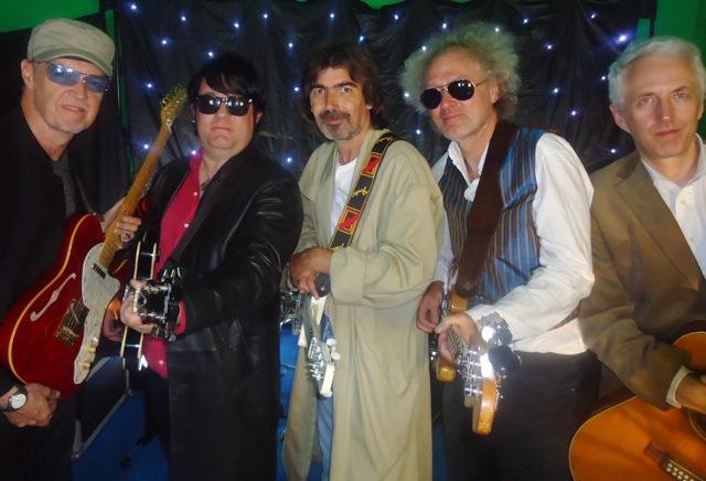 The Wilbury Guitars