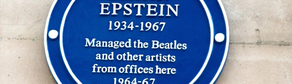 Blue Plaque for Epstein